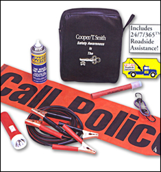 Basic Highway Car Emergency Kit with 24/7/365 roadside assistanc