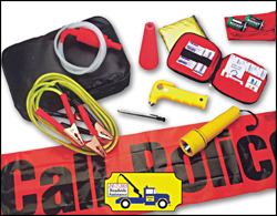 Driver Essential Car Emergency Kit with 24/7/365 roadside assist