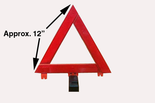 "12"" Emergency Triangle"