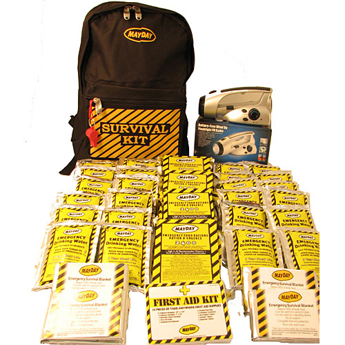 4 Person Economy Emergency Backpack Kit