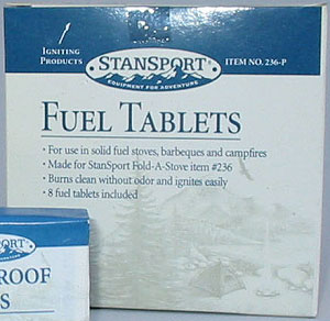 Fuel tablets 20 Packs of 8