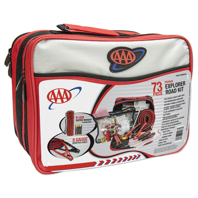 73 Pc Car Emergency Kit AAA Approved