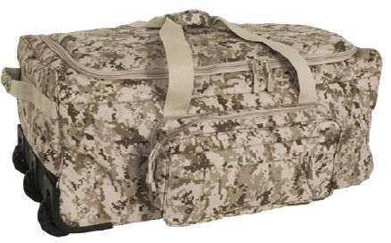 MARPAT DESERT Wheeled Deployment Bag <br> Free Shipping!