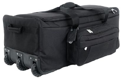 Black Wheeled Deployment Bag <br> Free Shipping!