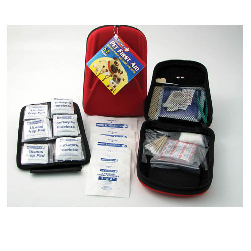 63 Piece First Aid Kit for Pets