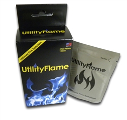 Three pack Utility Flame with Stove