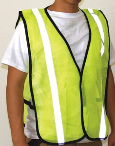 Yellow Safety Vest - 10 Pack