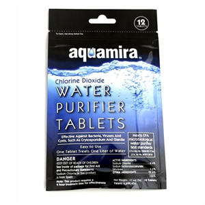 Chlorine Dioxide Water Purifier Tablets Pack of 20