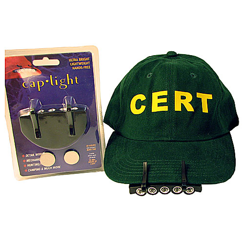Cap/Hard Hat 5 led Light
