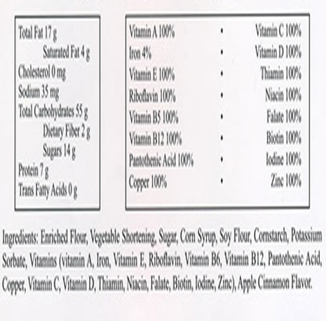 Food bar 3600 calories case of 20 for Mayday food bar 3600 calories