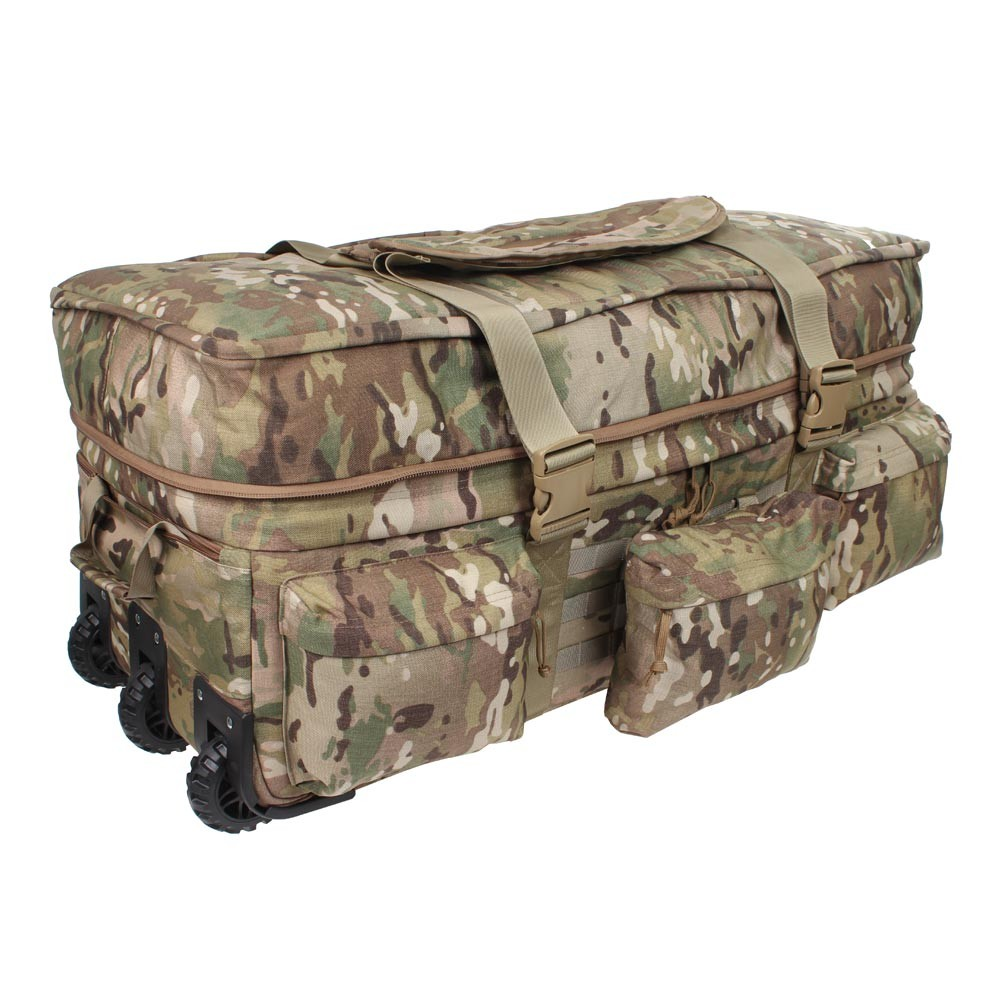 Military Duffle Bag With Wheels