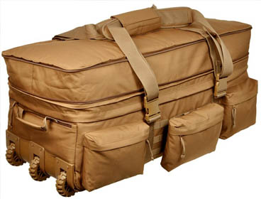 SOC Coyote Brown Rolling Load Out XL Bag - Buy American