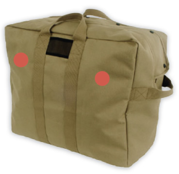 Coyote Brown Kit Bag