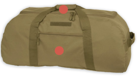 Coyote Brown Giant Duffle Bag