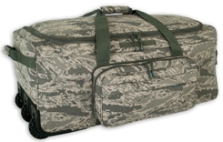 ABU Digital Camo Wheeled Deployment Bag<BR> FREE SHIPPING!