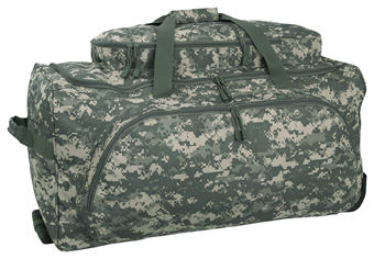ACU Wheeled Deployment Bag With Telescopic Handle