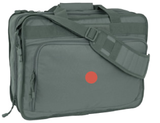 Foliage Green Computer Attache/Backpack