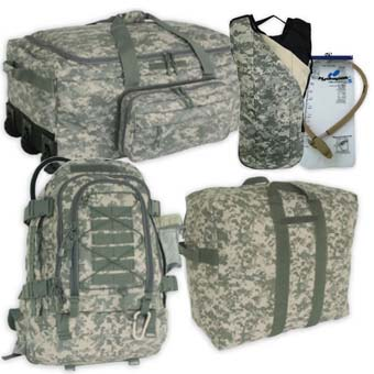 ACU Deployment Kits Survival Kits, emergency supply, emergency kits, survival information, survival equipment, child survival guide, survival, army, navy, store, gas, mask, preparedness, food storage, terrorist, terrorist disaster planning, emergency, survivalism, survivalist, survival, center, foods