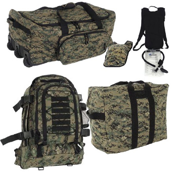 MARPAT DIGI GREEN Deluxe Hydration Deployment Kit <br> FREE SHIPPING!