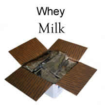125 Servings Whey Milk<br>Buy in Bulk an Save<br>Free Shipping!