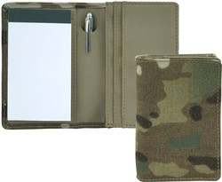 Multicam Business Card Holder with Pad & Pen