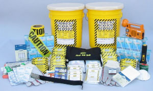 10 - Person Deluxe Comprehensive 72 Hour Emergency Kit