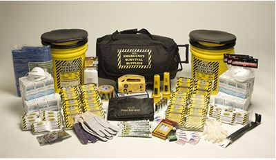 20 Person Deluxe Office Emergency Kit