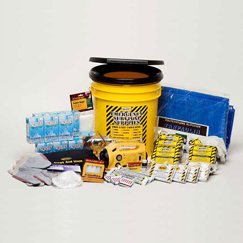 5 Person Deluxe Office or Family Emergency Kit - Voted best over