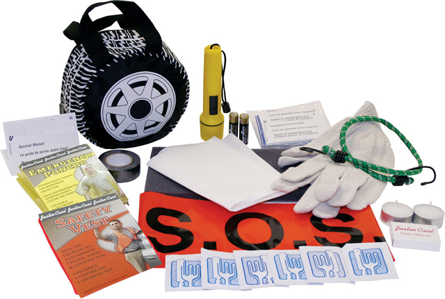 Medium Safe-T-Tire Car Emergency Kit
