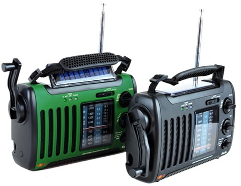 Dynamo and Solar Powered Radio with all the Dream Features <BR> Free Shipping! </BR>