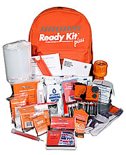 Ready Kit Plus 72-hour emergency preparedness Kit with Ready Mas