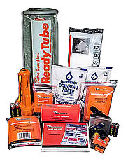 Ready Tube Personal Evacuation Kit