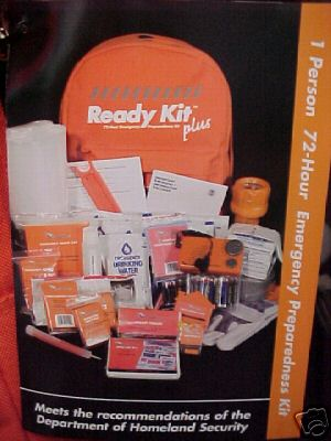 Ready Kit Plus 1 Person 72 hours Deluxe preparedness