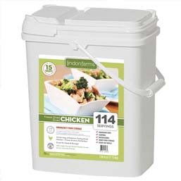 114 Serving Freeze Dried Diced Chicken <br>Real Meet!<br>15+Years Shelf Life!<br>  Free Shipping!!!