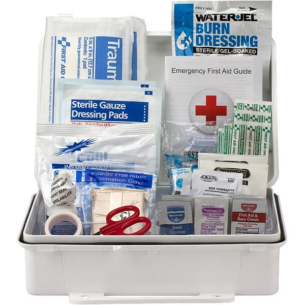 25-Person, 89-Pc ANSI-2015 Class A Weatherproof First Aid