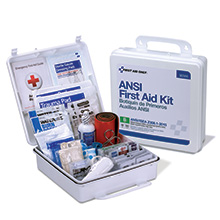 50-Person, 199-Piece ANSI Class B Weatherproof First Aid Kit