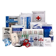 89-Pc ANSI-2015 Class A First Aid Kit Refill