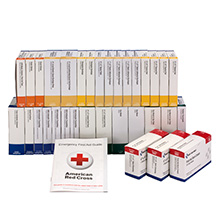 54-Unit ANSI-2015 Class B First Aid Kit Refill