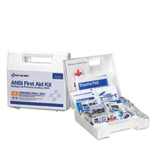 25-Person, 89-Pc ANSI ANSI-2015 Class A First Aid Kit, Plastic