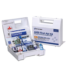 25-Person ANSI-2015 Class A+ First Aid Kit, Plastic