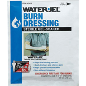 "Water-Jel 4"" x 16"" Burn Dressings"