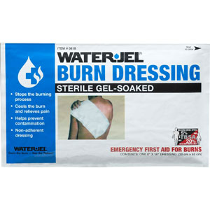 "Water-Jel 8"" x 18"" Burn Dressings"