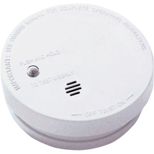 Fire Sentry Battery Operated 4� Basic Smoke Alarm
