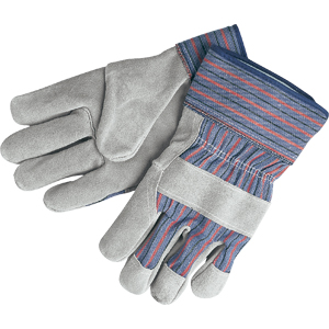&#34B&#34 Select Shoulder Gloves w/2 1/2&#34 Safety Cuff, Large