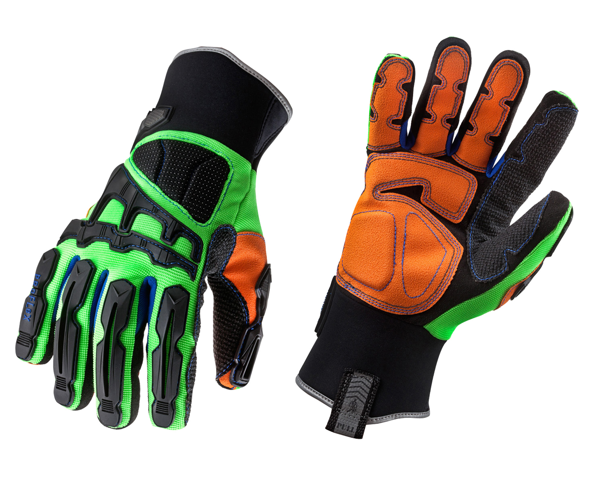 925F(x)WP Dorsal Impact-Reducing Gloves