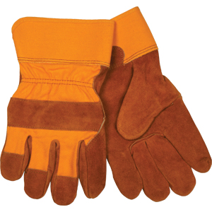 Bronco &#34B&#34 Shoulder, Full Feature Gunn Rubberized Cuff Gloves