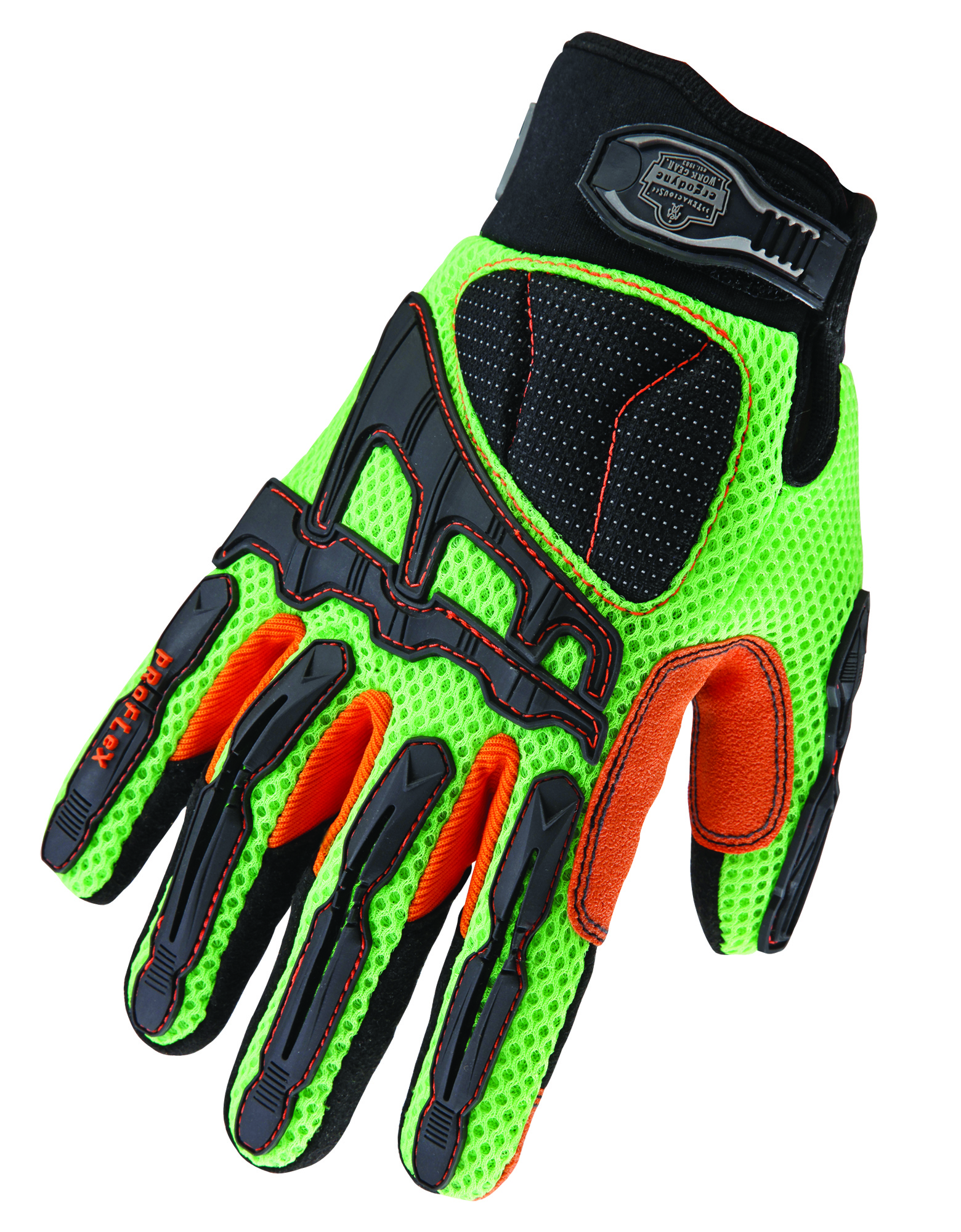 Light Dorsal Impact-Reducing Gloves