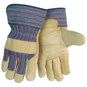 Economy Grain Leather Palm Gloves