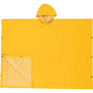 .35mm, PVC/Poly, Yellow Schooner II Poncho