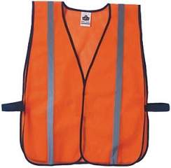 Non-Certified Vest, Orange